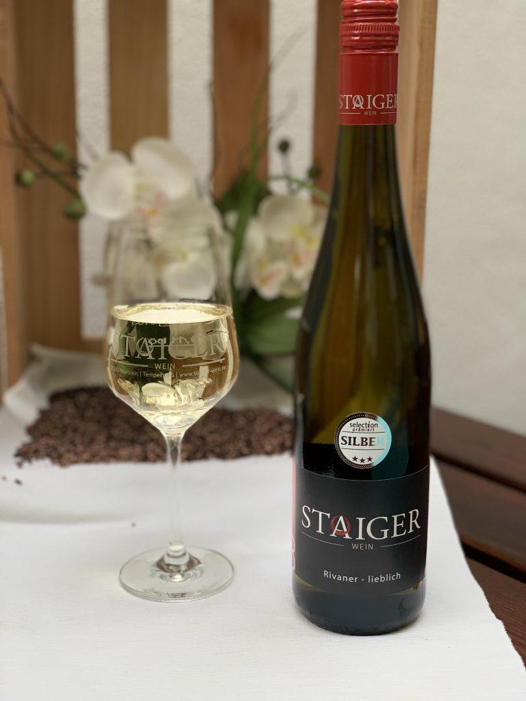 2018 Niersteiner Rivaner Qualitätswein b.A. | Lieblich